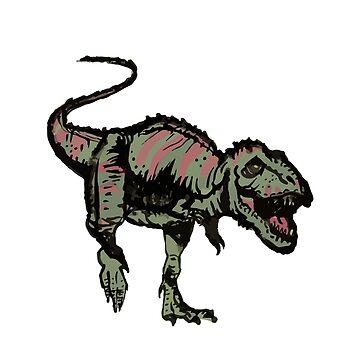 Tyrannosaurus Rex by MisterKeet