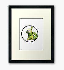 Lenny the dragon ferret Framed Print