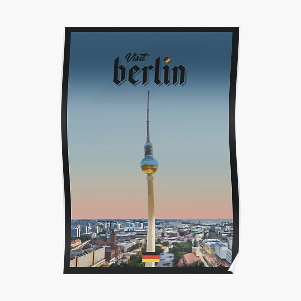 Travel to Berlin Poster