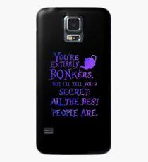 Alice in Wonderland - Bonkers Case/Skin for Samsung Galaxy