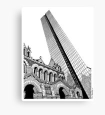 Copley Square - Boston Canvas Print