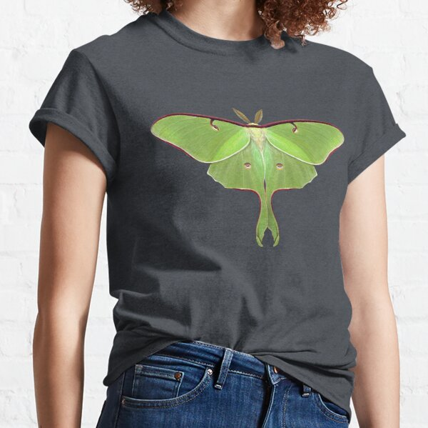 Luna Moth Painting by Mary Capaldi Classic T-Shirt