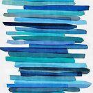 Blue Stripes by Mareike Böhmer