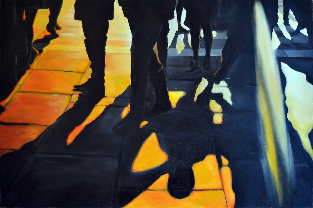 Who are you, 2014, 120-80cm, oil on canvas by oanaunciuleanu