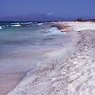 Miles of Sand on Chrissi Island by Kasia-D