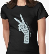 Peace sign in different languages T-Shirt