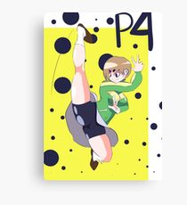 Persona 4 - Chie Print Canvas Print