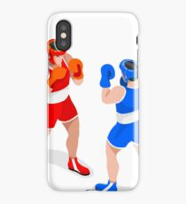 Boxe Athlete Boxing Sport iPhone Case/Skin