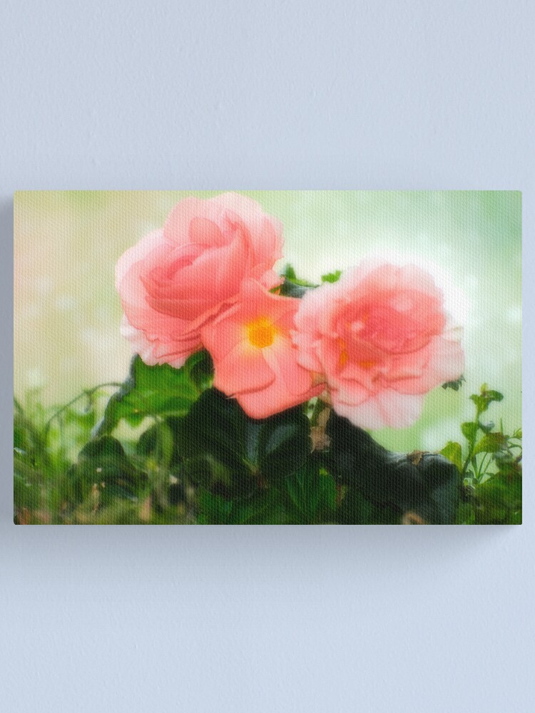 Alternate view of The Intimate Garden Canvas Print