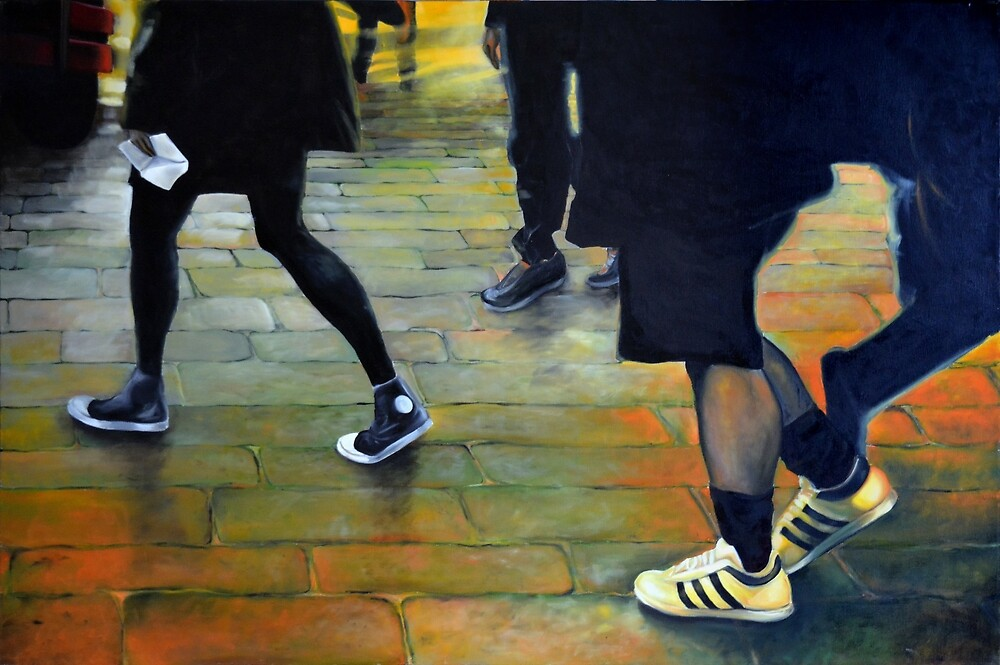 Special Delivery, 2014, 120-80cm, oil on canvas by oanaunciuleanu