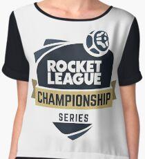 Rocket League Championship design Women's Chiffon Top