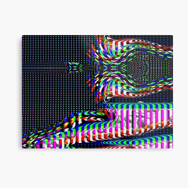 Illusions Metallbild