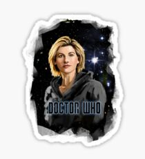 Doctor Who 13 Painting Sticker