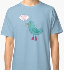 Emotional Support Duck Classic T-Shirt