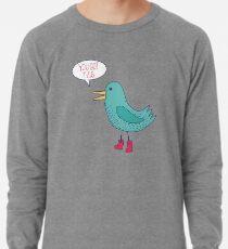 Emotional Support Duck Lightweight Sweatshirt