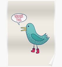 Emotional Support Duck Poster