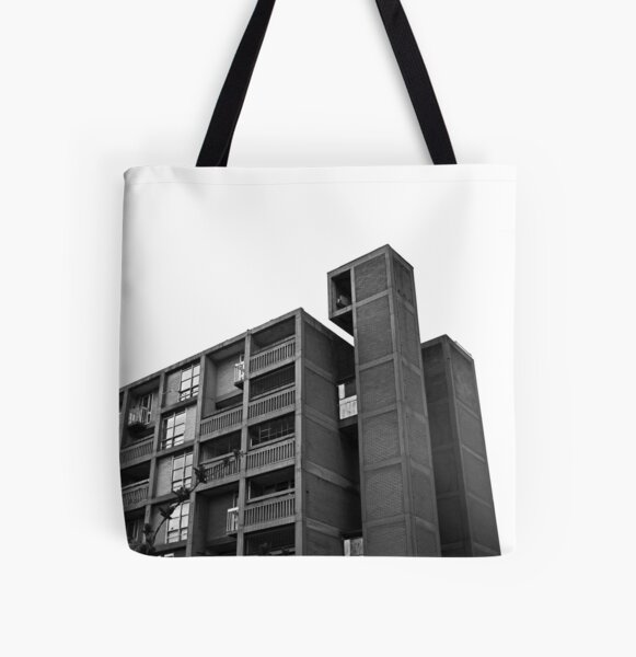 Park Hill Lift Shaft All Over Print Tote Bag