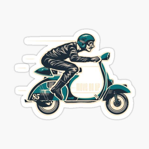 Cafe Scooter Racer 85 Sticker