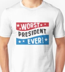Funny President Blue Red White  T-Shirt