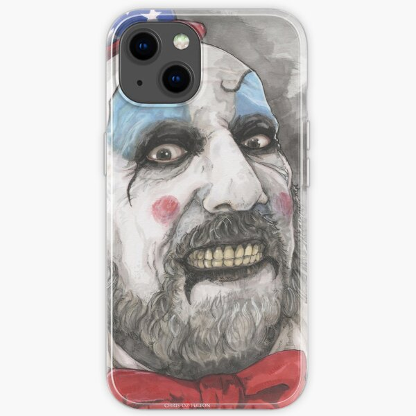 Captain Spaulding house of 1000 corpses iPhone Soft Case
