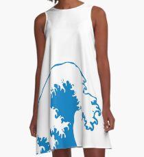 Summery Surf A-Line Dress