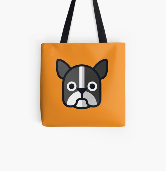 Boston Terrier All Over Print Tote Bag