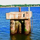 Concrete Pilings - Charlottetown Harbour, PEI, Canada by Shulie1