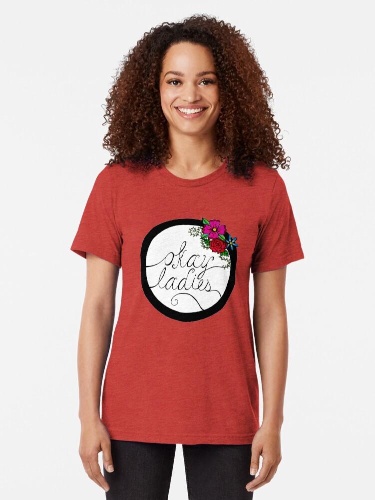Vista alternativa de Camiseta de tejido mixto Señoras
