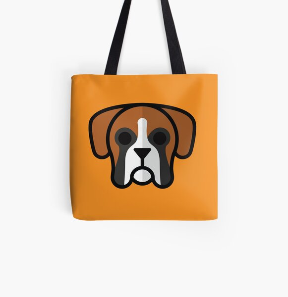 Boxer All Over Print Tote Bag