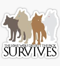 But the Pack Survives. Sticker