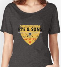 Rye & Sons (faded) Women's Relaxed Fit T-Shirt
