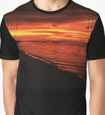 Sunset on Fire  Graphic T-Shirt