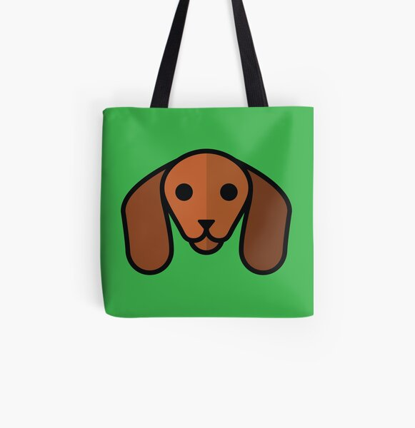 Dachshund All Over Print Tote Bag