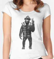 Bad Ape Women's Fitted Scoop T-Shirt