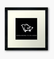 Skyrim belongs to the nords Framed Print