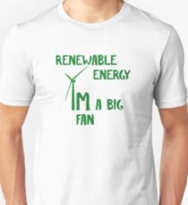 Renewable Green Energy t-shirt Unisex T-Shirt