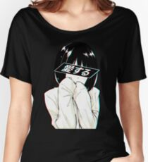 LOVE (Japanese) - Sad Japanese Aesthetic  Women's Relaxed Fit T-Shirt