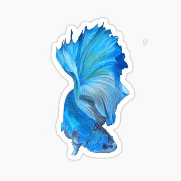 Blue Beta Sticker