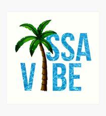 ISSA VIBE Art Print
