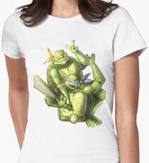 """Selfie!"" Teenage Mutant Ninja Turtles Digitally Colored Pencil Drawing T-Shirt"