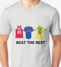 Best NBA jordan fútbol soccer bulls jersey Unisex T-Shirt