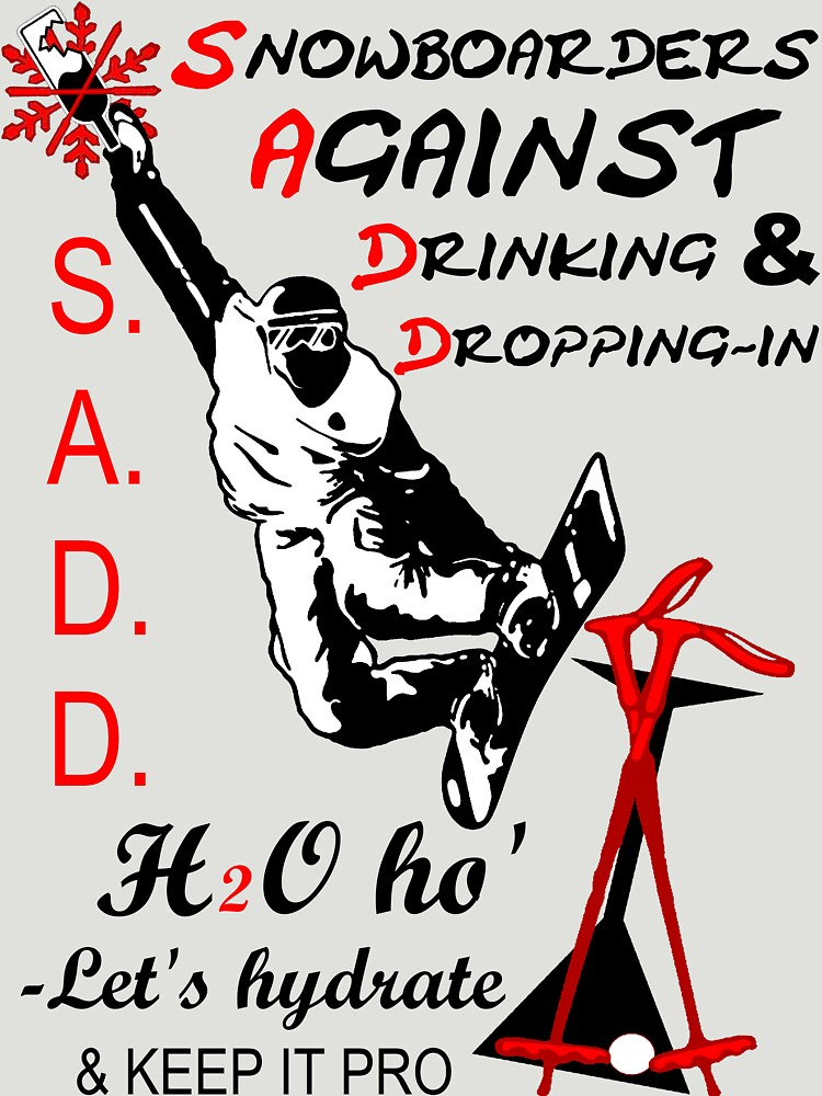 S.A.D.D. by Noveltee-Shirts
