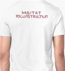 Habitat Reconstruction (Red) Unisex T-Shirt