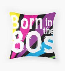 1980s Throw Pillow