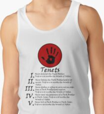 Dark Brotherhood Tenets Skyrim Tank Top