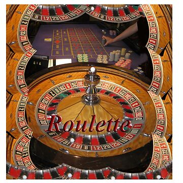 casino roulette wheel and table by TomConway