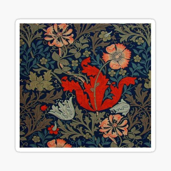 William Morris Compton Sticker