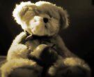 Teddybär in Sepia von Evita
