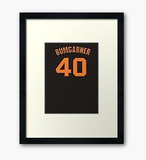 Madison Bumgarner Framed Print