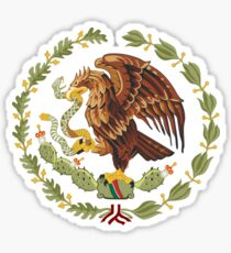 Mexican Eagle And Snake  Sticker
